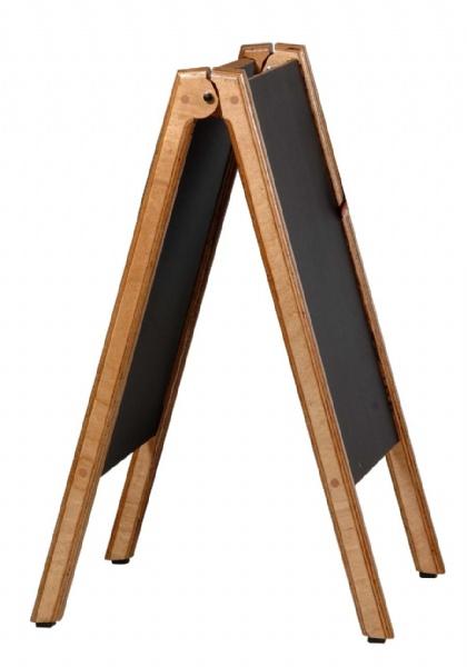 Chevalet bois avec tableau noir uwht010068 - Tableau noir bois ...